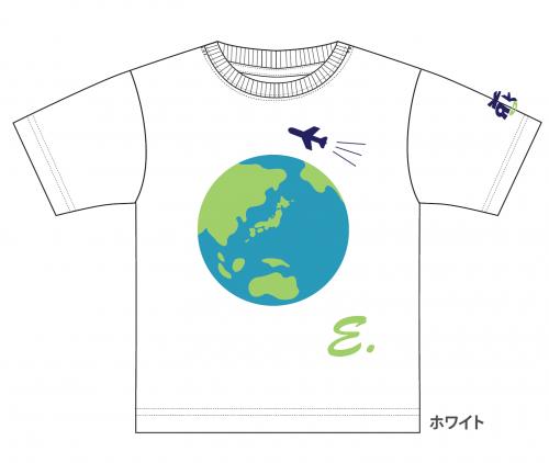 ①飛行機と地球